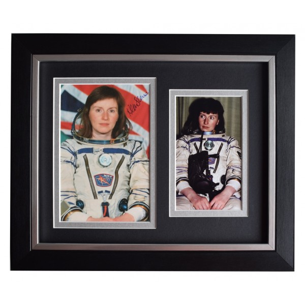 Helen Sharman SIGNED 10x8 FRAMED Photo Autograph Display MIR Space  AFTAL  COA Memorabilia PERFECT GIFT