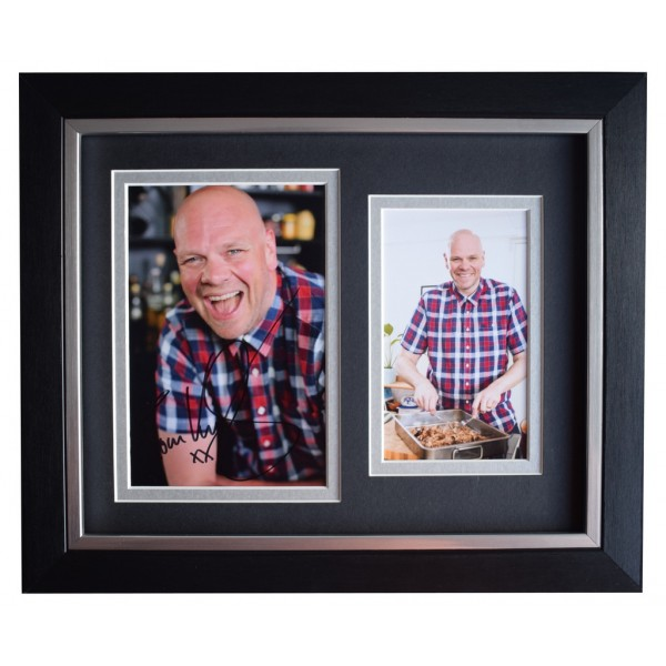 Tom Kerridge SIGNED 10x8 FRAMED Photo Autograph Display TV Chef  AFTAL  COA Memorabilia PERFECT GIFT