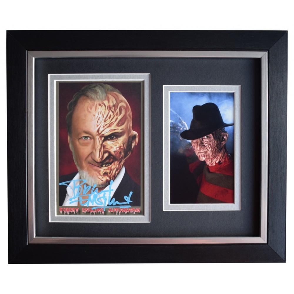Robert Englund Signed Post Card Autographed Freddy Krueger