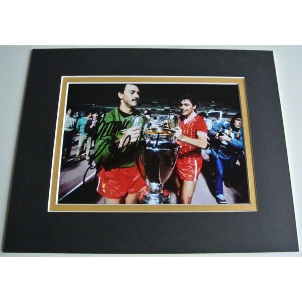 Bruce Grobbelaar Signed Autograph 10x8 photo display Liverpool Football & COA AFTAL Memorabilia PERFECT GIFT