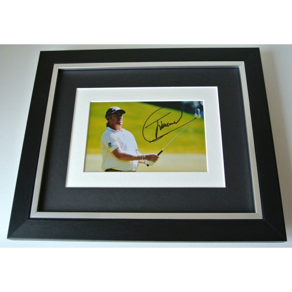 Miguel Angel Jimenez SIGNED 10X8 FRAMED Photo Mount Autograph Display Golf & COA