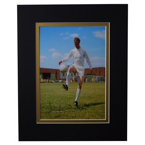 Jack Charlton Signed Autograph 10x8 photo display Leeds United Football AFTAL  COA Memorabilia PERFECT GIFT