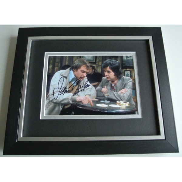James Bolam SIGNED 10X8 FRAMED Photo Autograph Display The Likely Lads TV & COA AFTAL Memorabilia PERFECT GIFT