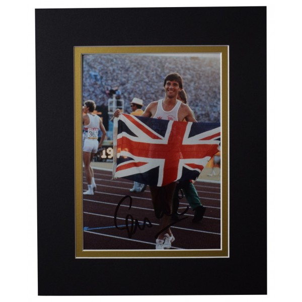 Sebastian Seb Coe Signed Autograph 10x8 photo display Olympic 1500m Sport   AFTAL  COA Memorabilia PERFECT GIFT