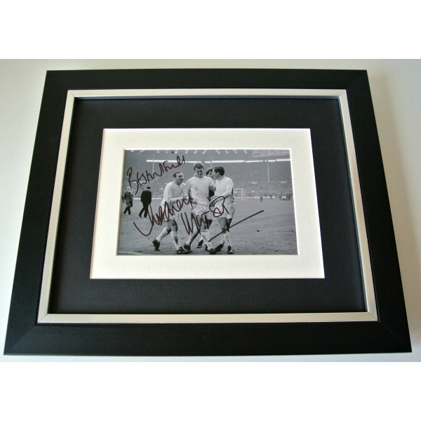 Rodney Marsh SIGNED 10X8 FRAMED Photo Autograph Display Queens Park Rangers COA Perfect Gift