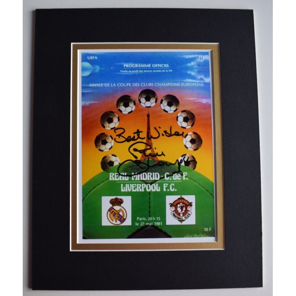 Phil Thompson Signed Autograph 10x8 photo display Liverpool Football   Memorabilia  AFTAL & COA perfect gift