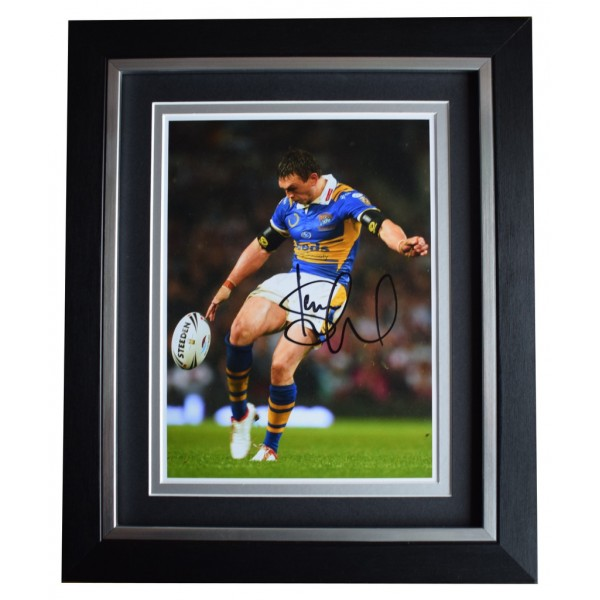 Kevin Sinfield SIGNED 10x8 FRAMED Photo Autograph Display Rugby League Sport  AFTAL  COA Memorabilia PERFECT GIFT
