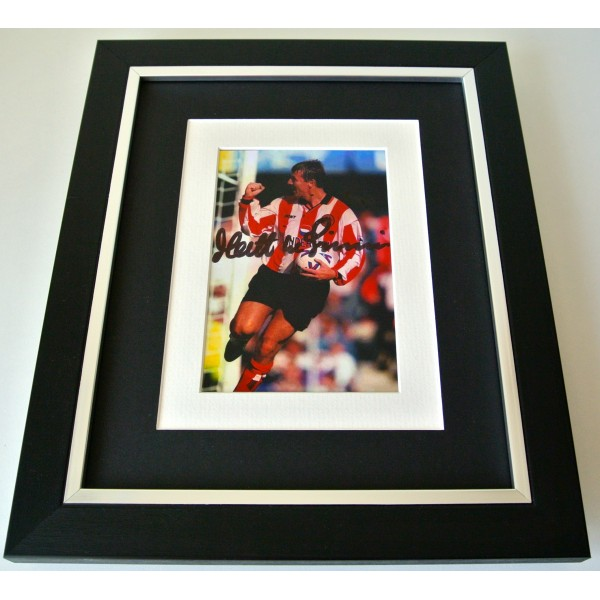 Matt le Tissier SIGNED 10X8 FRAMED Photo Autograph Display Southampton & COA Perfect Gift