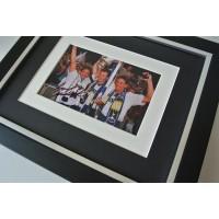 Gary Mabbutt SIGNED 10X8 FRAMED Photo Autograph Display Tottenham Hotspur COA Perfect Gift