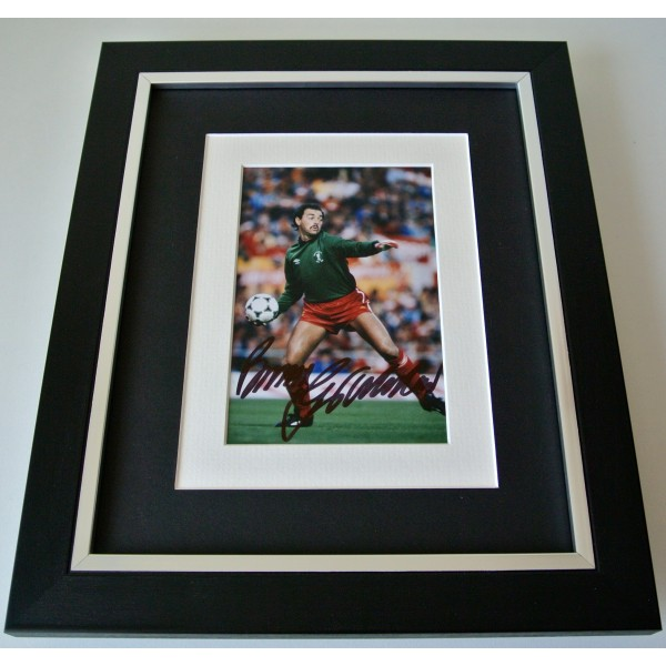 Bruce Grobbelaar SIGNED 10X8 FRAMED Photo Mount Autograph Display Liverpool COA Perfect Gift