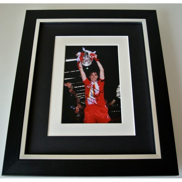 Alan Hansen SIGNED 10X8 FRAMED Photo Mount Autograph Display Liverpool & COA Perfect Gift