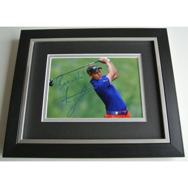 Luke Donald SIGNED 10X8 FRAMED Photo Autograph Display Golf Memorabilia & COA AFTAL Memorabilia PERFECT GIFT