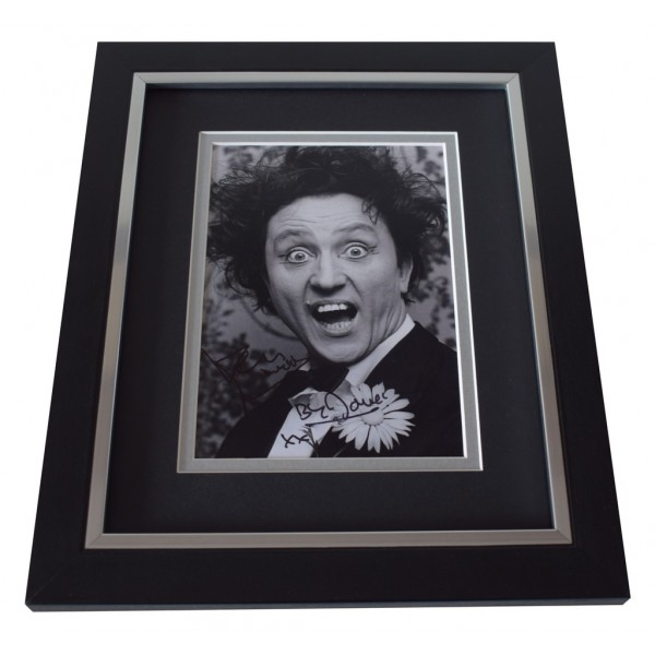 Ken Dodd SIGNED 10x8 FRAMED Photo Autograph Display Comedy TV AFTAL  COA Memorabilia PERFECT GIFT