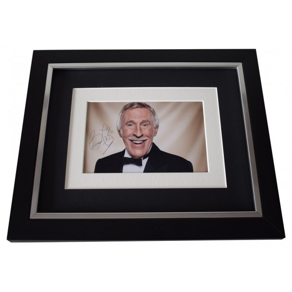 Bruce Forsyth SIGNED 10x8 FRAMED Photo Autograph Display Strictly Come Dancing AFTAL  COA Memorabilia PERFECT GIFT