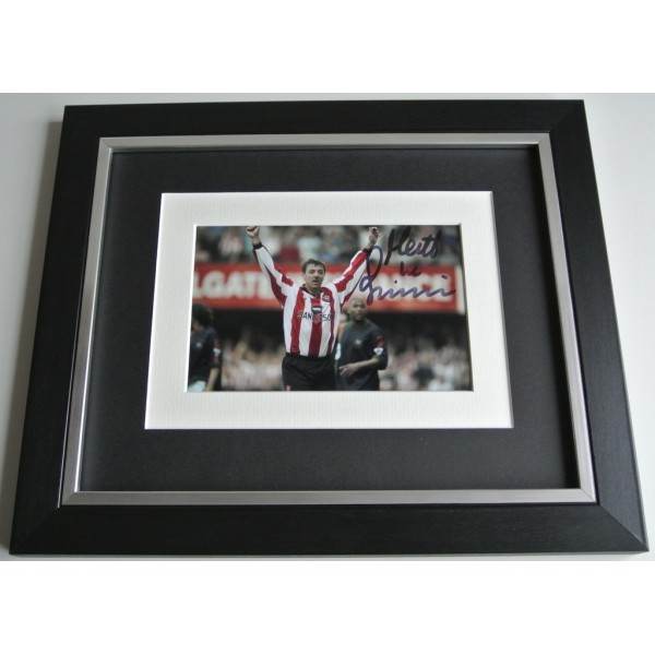 Matt le Tissier SIGNED 10x8 FRAMED Photo Autograph Display Southampton Football COA AFTAL Memorabilia PERFECT GIFT