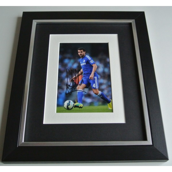 Cesc Fabregas SIGNED 10x8 FRAMED Photo Autograph Display Chelsea Football & COA AFTAL Memorabilia PERFECT GIFT