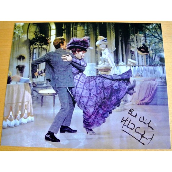 MICHAEL CRAWFORD HAND SIGNED RARE AUTOGRAPH 10X8 PHOTO HELLO DOLLY FILM & COA