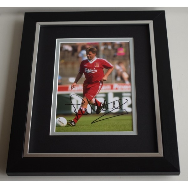Jan Molby SIGNED 10X8 FRAMED Photo Autograph Display Liverpool Football  AFTAL & COA Memorabilia PERFECT GIFT