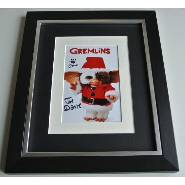 Joe Dante SIGNED 10x8 FRAMED Photo Autograph Display Gremlins Film Director COA AFTAL Memorabilia PERFECT GIFT