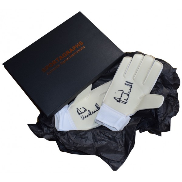 David Marshall SIGNED Pair Goalkeeper Gloves Autograph Gift Box Hull City AFTAL  COA Memorabilia PERFECT GIFT