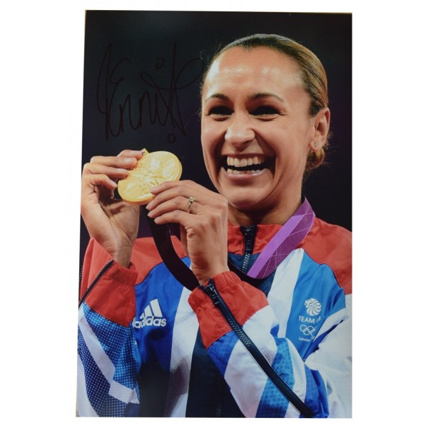Jessica Ennis SIGNED 12x8 Photo Autograph Heptathlon Olympic Sport AFTAL  COA Memorabilia PERFECT GIFT