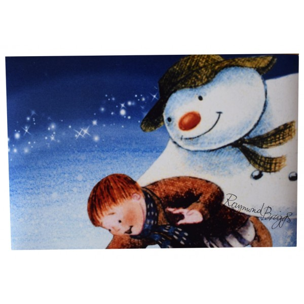 Raymond Briggs SIGNED 12x8 Photo Autograph The Snowman TV   AFTAL  COA Memorabilia PERFECT GIFT
