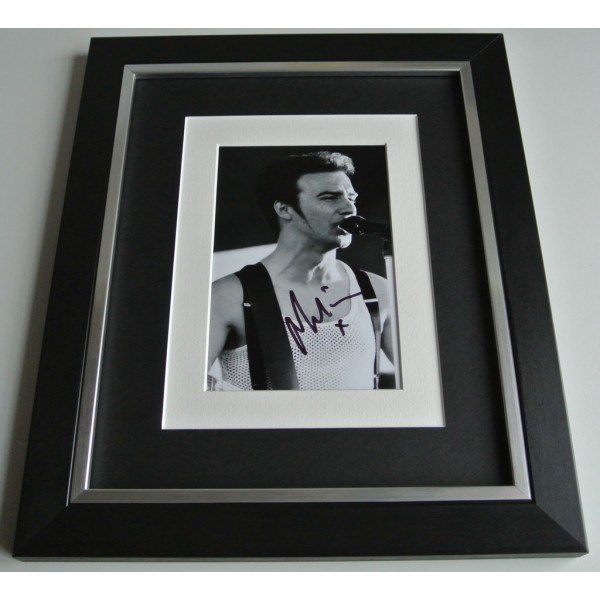 Midge Ure SIGNED 10x8 FRAMED Photo Autograph Display Ultravox Music  COA AFTAL Memorabilia PERFECT GIFT