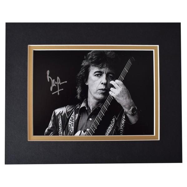 Bill Wyman Signed Autograph 10x8 photo display Rolling Stones Music AFTAL  COA Memorabilia PERFECT GIFT