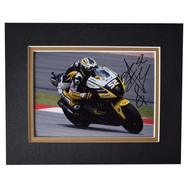 James Toseland Signed Autograph 10x8 photo display Superbikes  AFTAL  COA Memorabilia PERFECT GIFT