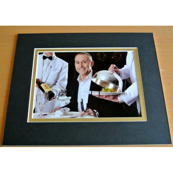 Michel Roux Jr SIGNED Autograph 10X8 Photo Mount Display Food Drink TV Chef COA AFTAL TV Memorabilia