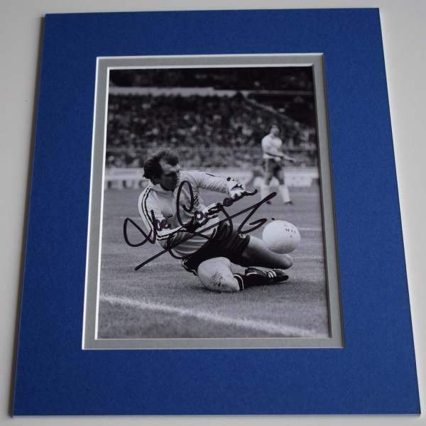 Joe Corrigan Signed Autograph 10x8 photo display Manchester City Football AFTAL & COA Memorabilia PERFECT GIFT
