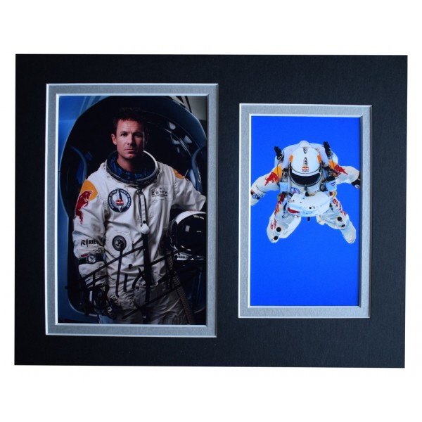 Felix Baumgartner Signed Autograph 10x8 photo display Space Jump AFTAL  COA Memorabilia PERFECT GIFT