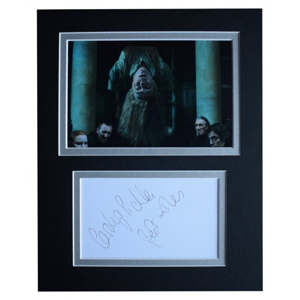 Carolyn Pickles Signed Autograph 10x8 photo display Harry Potter Film   AFTAL  COA Memorabilia PERFECT GIFT