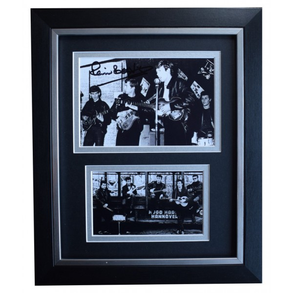 Pete Best SIGNED 10x8 FRAMED Photo Autograph Display Beatles Music AFTAL  COA Memorabilia PERFECT GIFT