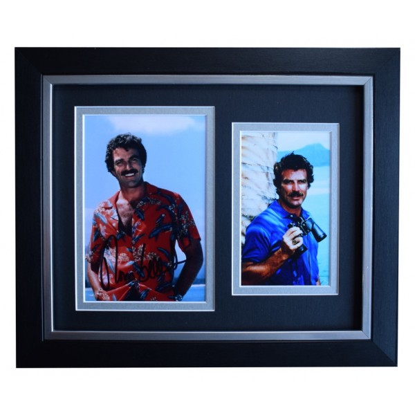 Tom Selleck SIGNED 10x8 FRAMED Photo Autograph Display Magnum P.I.TV AFTAL  COA Memorabilia PERFECT GIFT