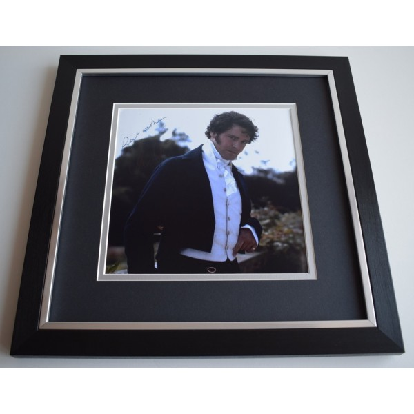 Colin Firth SIGNED Framed LARGE Square Photo Autograph display Film AFTAL &  COA Memorabilia   perfect gift