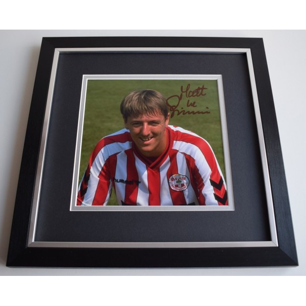 Matt Le Tissier SIGNED Framed LARGE Square Photo Autograph display AFTAL &  COA Memorabilia   perfect gift