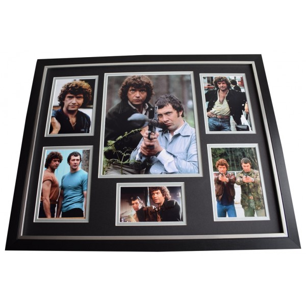 Martin Shaw SIGNED Framed Photo Autograph Huge display Professionals TV  AFTAL & COA Memorabilia   perfect gift