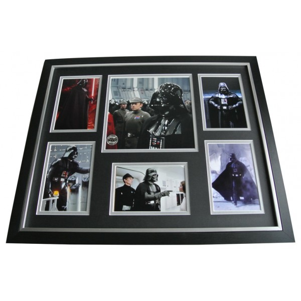 James Earl Jones SIGNED FRAMED Photo Autograph Huge display Official Star Wars AFTAL & COA Memorabilia PERFECT GIFT