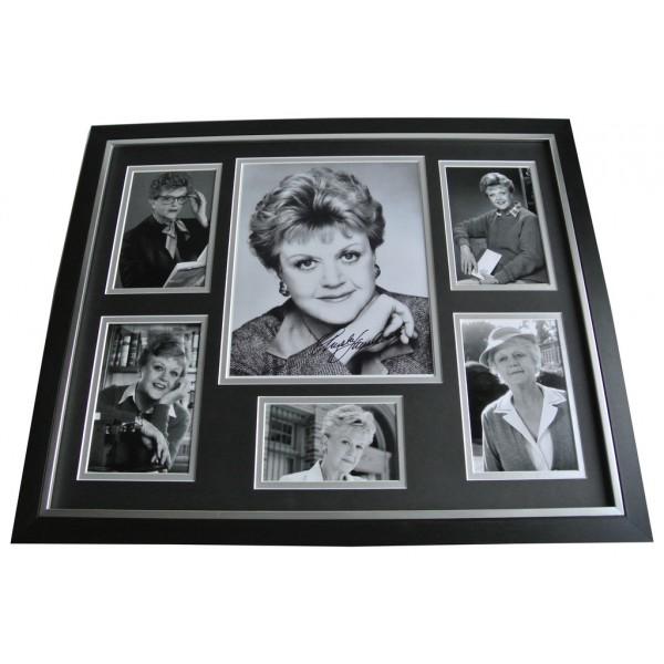 Angela Lansbury SIGNED FRAMED Photo Autograph Huge display Murder she Wrote  AFTAL & COA Memorabilia PERFECT GIFT