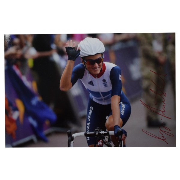 Lizzie Armitstead SIGNED 12x8 Photo Autograph Olympics Cycling CLEARANCE COA Memorabilia PERFECT GIFT