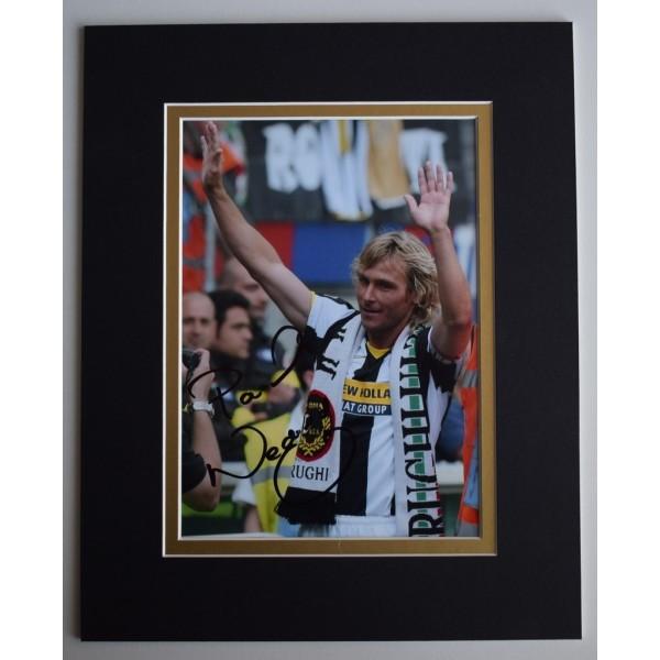 Pavel Nedved Signed Autograph 10x8 photo display Juventus Football    AFTAL & COA Memorabilia   PERFECT GIFT
