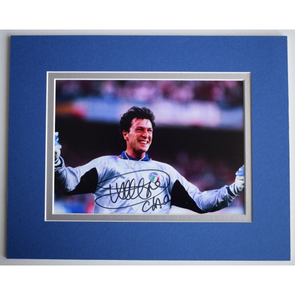 Walter Zenga Signed Autograph 10x8 photo display Italy Inter Milan  AFTAL &  COA Memorabilia   perfect gift