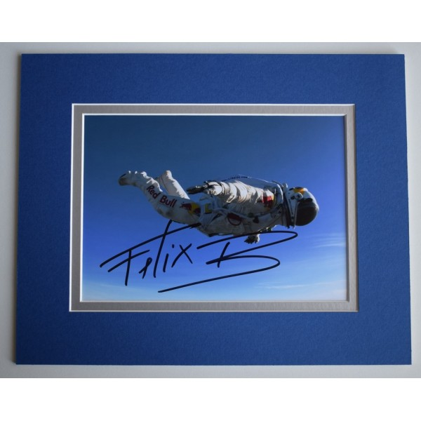 Felix Baumgartner Signed Autograph 10x8 photo display Space   AFTAL & COA Memorabilia   PERFECT GIFT
