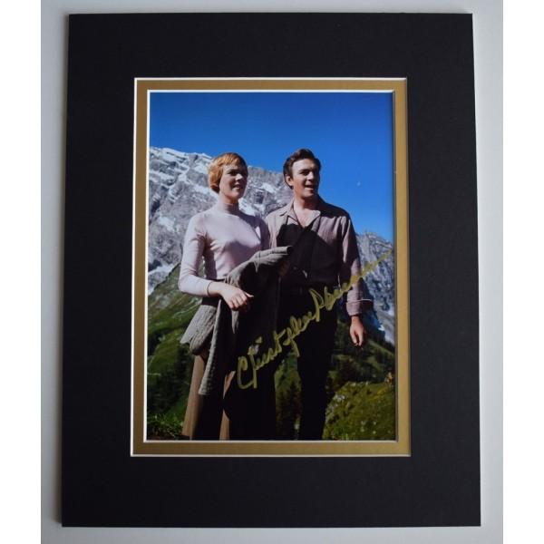 Christopher Plummer Signed Autograph 10x8 photo display Film   AFTAL & COA Memorabilia   PERFECT GIFT