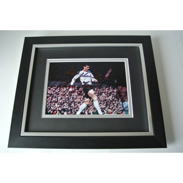 Ron Yeats SIGNED 10X8 FRAMED Photo Autograph Display Liverpool Football & COA Perfect Gift