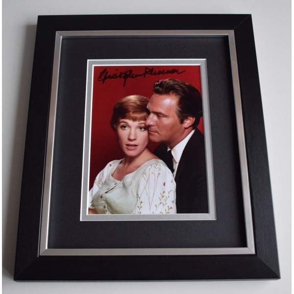 Christopher Plummer SIGNED 10X8 FRAMED Photo Autograph Display Film   AFTAL &  COA Memorabilia   perfect gift