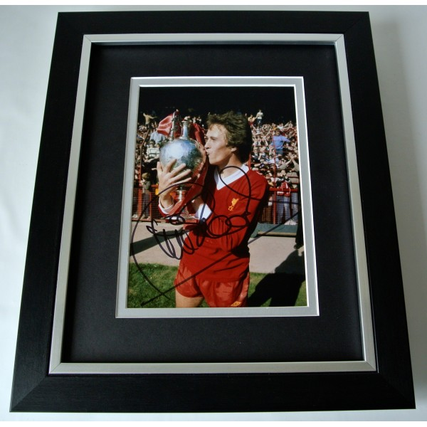 Phil Neal SIGNED 10X8 FRAMED Photo Autograph Display Liverpool Football & COA Perfect Gift