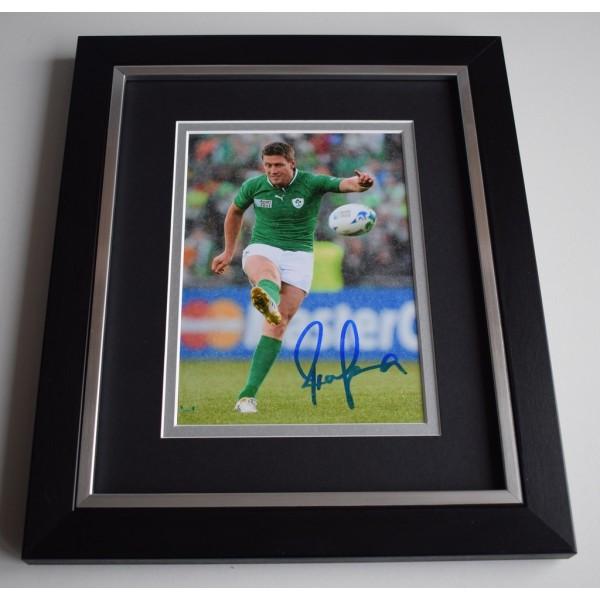 Ronan O'Gara SIGNED 10X8 FRAMED Photo Autograph Display Ireland   AFTAL &  COA Memorabilia   perfect gift