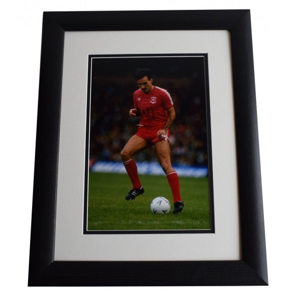 Willie Miller SIGNED FRAMED Photo Autograph 16x12 LARGE display Aberdeen & COA AFTAL MEMORABILIA